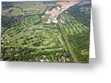 Philadelphia Cricket Club Wissahickon Militia Hill Golf Courses Greeting Card by Duncan Pearson