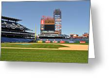 Philadelphia Phillies Stadium  Greeting Card by Brynn Ditsche