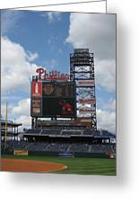 Phillies Greeting Card by Jennifer  Sweet