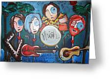 Phish At Big Cypress Greeting Card by Laurie Maves Guglielmi