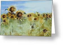 Pick Me Greeting Card by Gretchen Bjornson