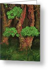 Pines By The Brook Greeting Card by Anna Folkartanna Maciejewska-Dyba