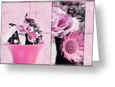 Pink Greeting Card by Angela Doelling AD DESIGN Photo and PhotoArt