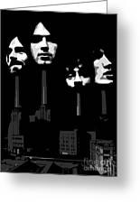 Pink Floyd No.02 Greeting Card by Caio Caldas