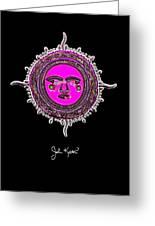 Pink Jewel Mohawk Sun Greeting Card by John Keaton