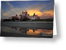 Pink Reflections Greeting Card by David Lee Thompson