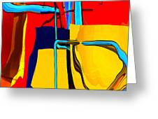 Pipe Dream Greeting Card by Richard Rizzo