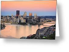 Pittsburgh 16 Greeting Card by Emmanuel Panagiotakis