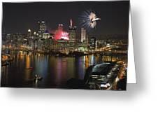 Pittsburgh 3 Greeting Card by Emmanuel Panagiotakis