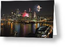 Pittsburgh 3 Greeting Card by Emmanuel Panagiotakis