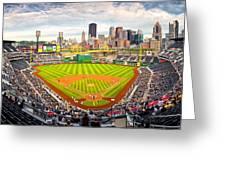 Pittsburgh Pirates  Greeting Card by Emmanuel Panagiotakis