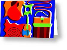 Playing Music Greeting Card by Patrick J Murphy