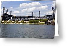 Pnc Park Pittsburgh Pa Greeting Card by Kristen Vota