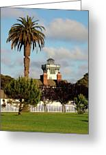 Point Fermin Light - San Pedro - Southern California Greeting Card by Christine Till