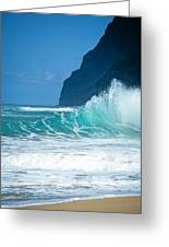 Polihale Beach  Greeting Card by Kevin Smith