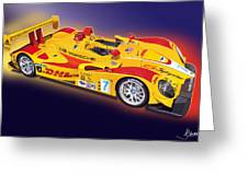 porsche RS Spyder Greeting Card by Alain Jamar