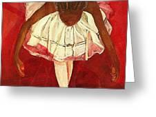 Port de bras Forward Greeting Card by Amira Najah Whitfield