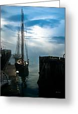 Portland Sunrise Greeting Card by Bob Orsillo