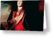 Portrait of George Washington Greeting Card by Charles Willson Peale