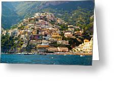 Positano  Greeting Card by Francesco Riccardo  Iacomino