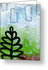 Prayer Flags Greeting Card by Linda Woods