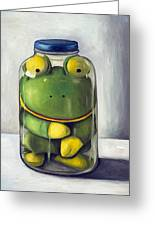 Preserving Childhood Upclose Greeting Card by Leah Saulnier The Painting Maniac