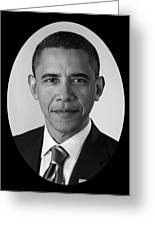 President Barack Obama Greeting Card by War Is Hell Store