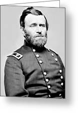 President Ulysses S Grant In Uniform Greeting Card by International  Images