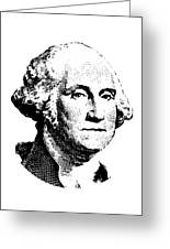 President Washington Greeting Card by War Is Hell Store