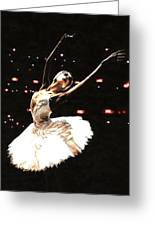 Prima Ballerina Greeting Card by Richard Young