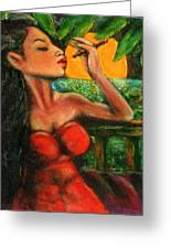 Private Celebration Greeting Card by Dennis Tawes