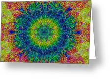 Psychedelicize Greeting Card by Bill Cannon