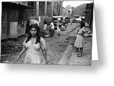 PUERTO RICO: SLUM, 1942 Greeting Card by Granger