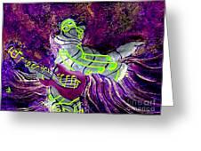 Purple Haze Greeting Card by Ron Carter