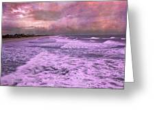 Purple Majesty  Greeting Card by Betsy A  Cutler