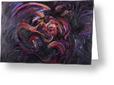 Purple Passion Greeting Card by Nadine Rippelmeyer