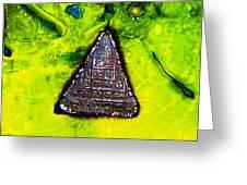 Pyramid Power Greeting Card by Milan m  Martinov