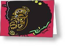 Questlove  Greeting Card by Kamoni Khem