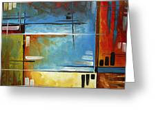 Quiet Whispers By Madart Greeting Card by Megan Duncanson
