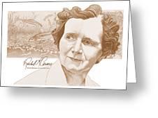 Rachel Carson Greeting Card by John D Benson