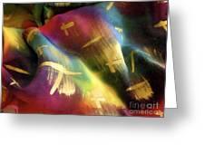 Rainbow Lights Greeting Card by Joanna White