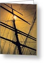 Raise The Sails Greeting Card by Lauri Novak