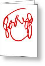 Ramona Flowers Red - Scott Pilgrim Vs The World Greeting Card by Paul Telling