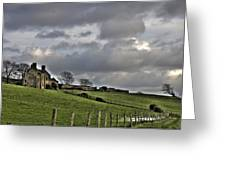 Rathfran House Greeting Card by Marion Galt