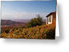 Reagan Library Overlook Greeting Card by Glenn McCarthy Art and Photography