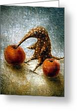 Red Apples Greeting Card by Lolita Bronzini