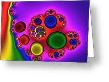 Red Blood Cells 215 Greeting Card by Rolf Bertram