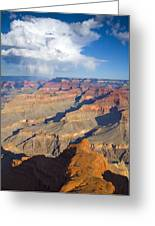 Red Storm Rising Greeting Card by Mike  Dawson