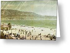 Redondo Beach La Greeting Card by Kevin Bergen
