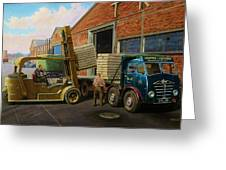 Reed Paper Foden Fg Greeting Card by Mike  Jeffries